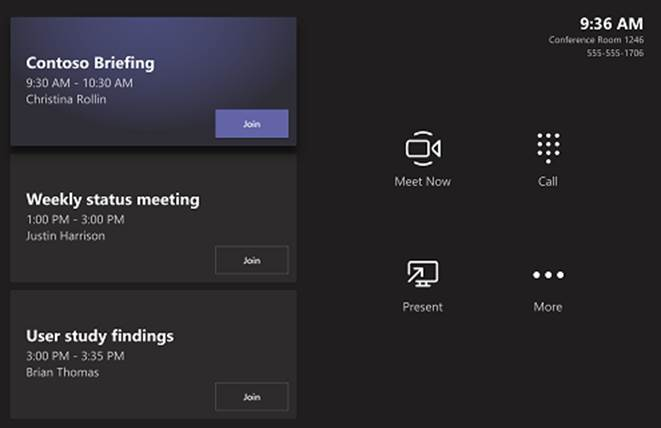 Microsoft Teams Meeting Room System